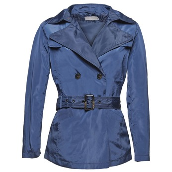 Modrý dámsky trenčkot bata, modrá, 979-9205 - 13