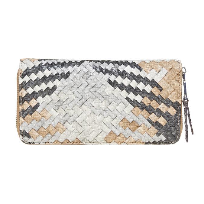 Dámska peňaženka so vzorom bata, hnedá, 941-4149 - 26