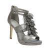 Sandále na ihličkovom  podpätku bata, šedá, 761-2602 - 13