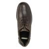 Kožené ležérne poltopánky bata, hnedá, 826-4640 - 15