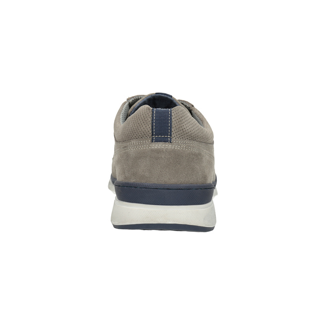 Ležérne kožené tenisky bata, šedá, 843-2627 - 17