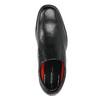 Pánske kožené poltopánky rockport, čierna, 824-6117 - 19