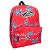 Červený batoh so vzorom vans, červená, 969-5093 - 13