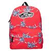 Červený batoh so vzorom vans, červená, 969-5093 - 19