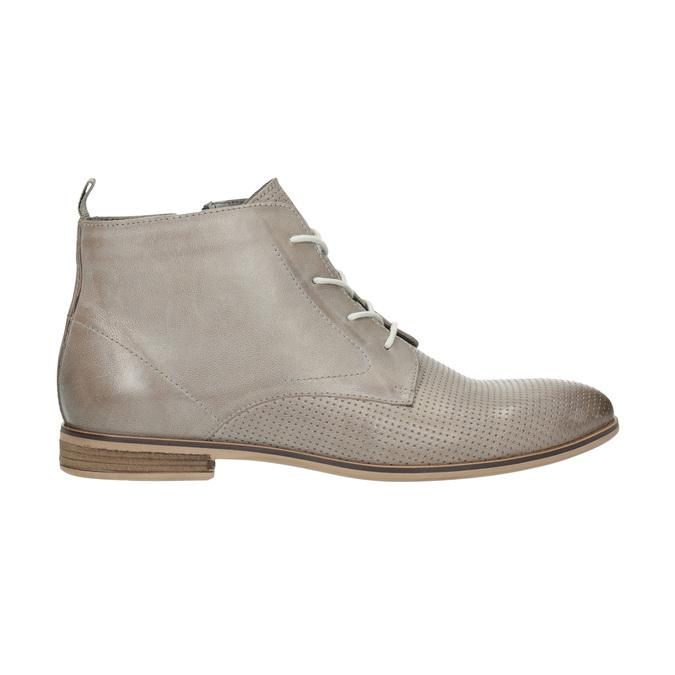 Kožená členková obuv bata, hnedá, 596-2645 - 15
