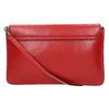 Červená kožená listová kabelka bata, červená, 964-5219 - 17