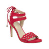 Červené sandále na ihličkovom podpätku bata, červená, 769-5603 - 13