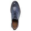 Modré kožené poltopánky bata, modrá, 826-9601 - 19