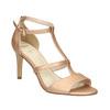 Dámske sandále na podpätku insolia, ružová, 761-5609 - 13