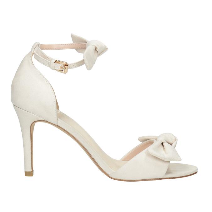 Dámske sandále s mašľou insolia, béžová, 769-1614 - 15