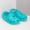 Tyrkysové detské sandále Clogs coqui, 372-9605 - 26