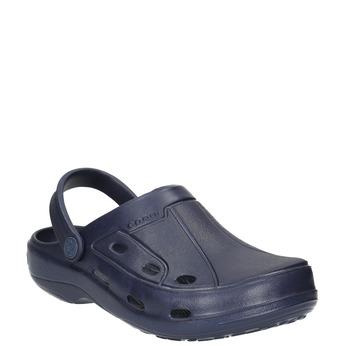 91f29d534d5c Modré detské sandále coqui