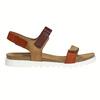 Dámske kožené sandále weinbrenner, hnedá, 566-4630 - 15