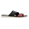 Dámske kožené nazuváky bata, čierna, 566-5614 - 15