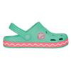 Dievčenské sandále so žabkou coqui, zelená, 272-7602 - 15