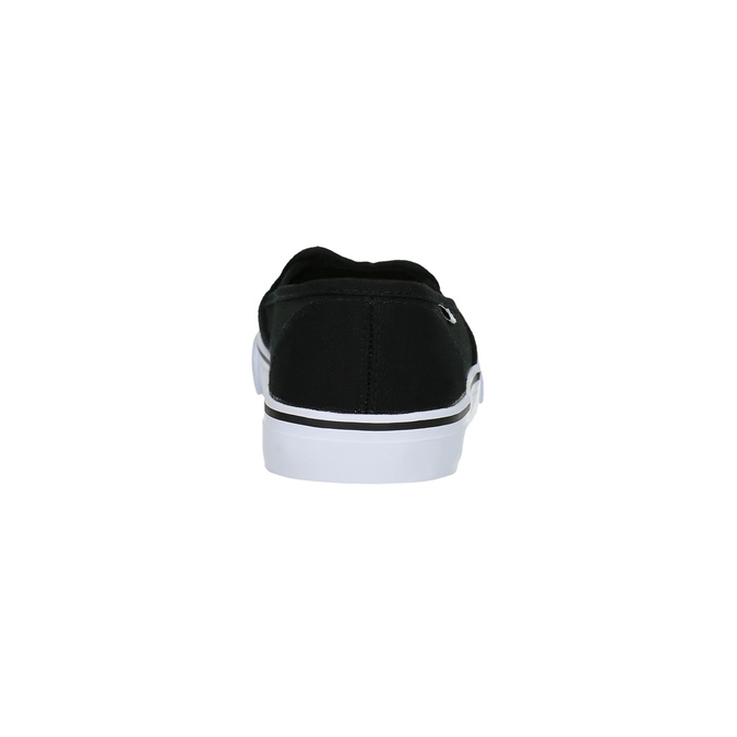 Čierne dámske Slip-on tomy-takkies, čierna, 589-6170 - 17