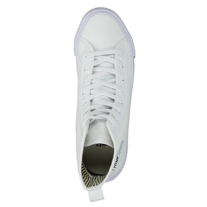 Členkové dámske tenisky tomy-takkies, biela, 589-1172 - 19