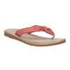 Kožené dámske žabky bata, červená, 566-5607 - 13