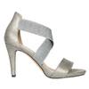 Dámske sandále na podpätku bata, šedá, 761-2614 - 15