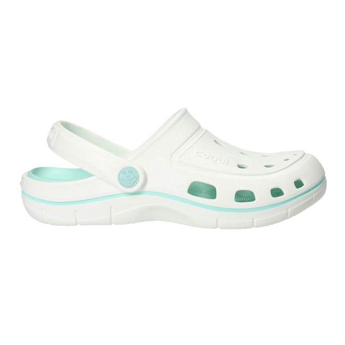 Biele dámske sandále coqui, biela, 572-1606 - 15
