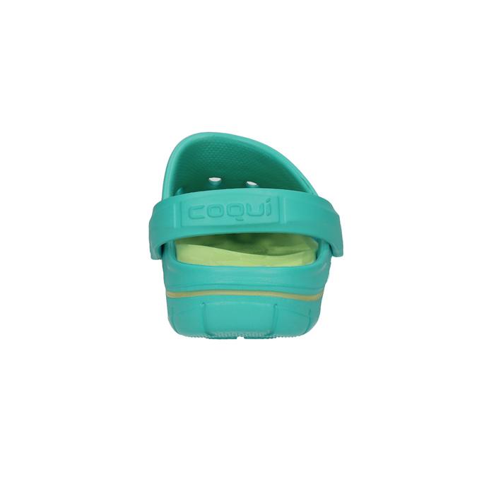 Tyrkysové dámske sandále coqui, 572-9606 - 17