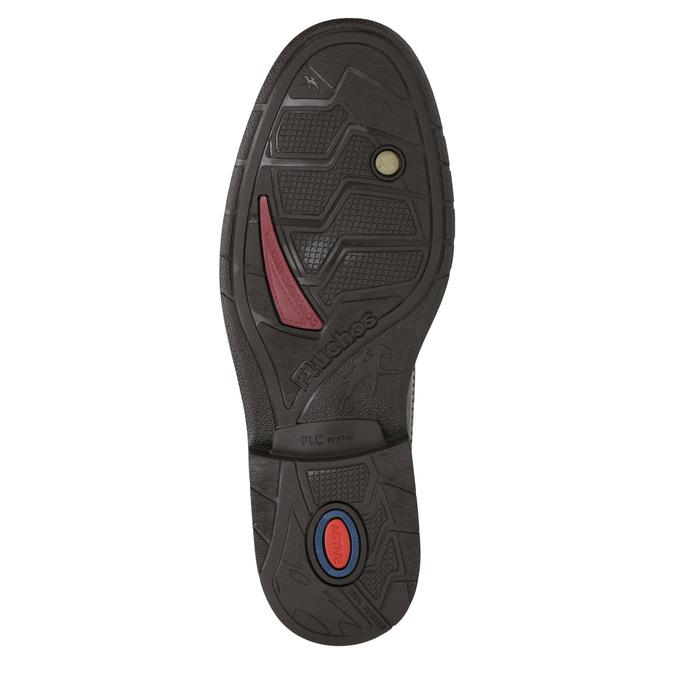 Kožená členková obuv fluchos, hnedá, 824-4450 - 19