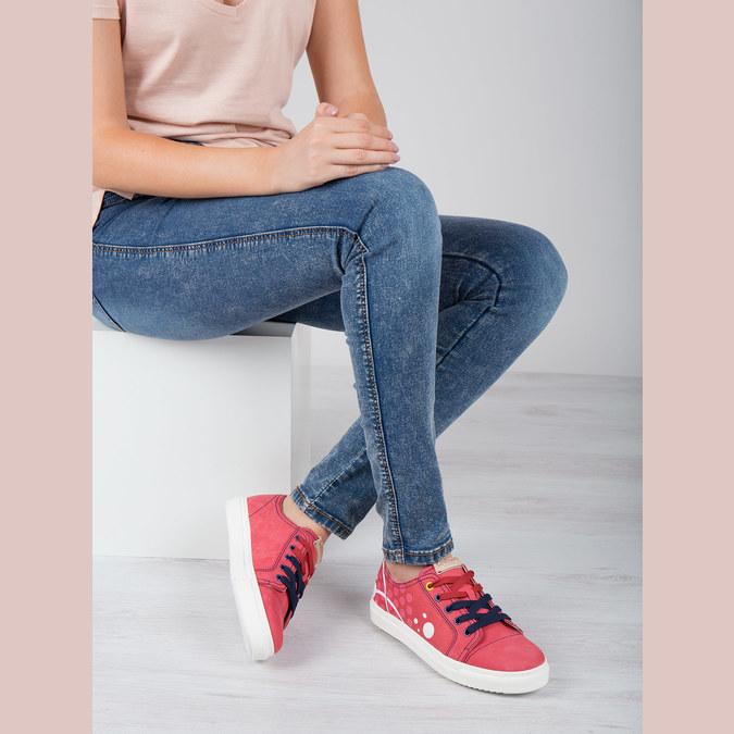 Kožené tenisky z limitovanej edície bata, červená, 546-5800 - 18
