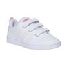 Dievčenské tenisky na suchý zips adidas, biela, 301-1268 - 13