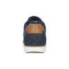 Kožené členkové tenisky bata, modrá, 846-9641 - 17