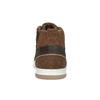 Kožené členkové tenisky bata, hnedá, 846-4640 - 17