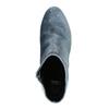 Dámske zamatové čižmy bata, šedá, 799-2616 - 19