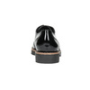 Lakované dámske poltopánky bata, čierna, 521-6606 - 17