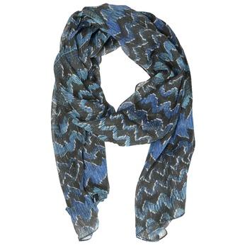 Dámska modrá šatka so vzorom bata, modrá, 909-9627 - 13