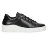 Kožené tenisky s výraznou podrážkou bata, čierna, 526-6641 - 15