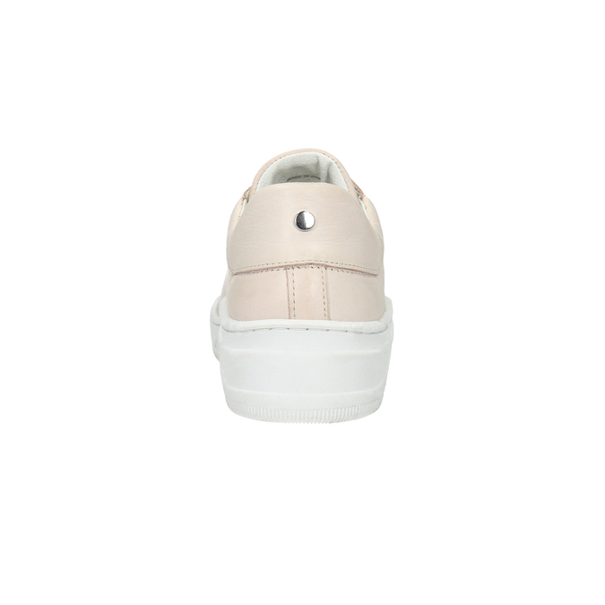 Dámske kožené tenisky bata, ružová, 526-5641 - 17
