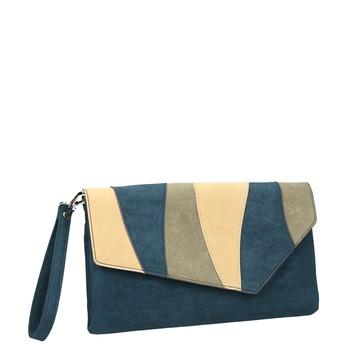 Modrá dámska listová kabelka s pútkom bata, modrá, 969-9664 - 13