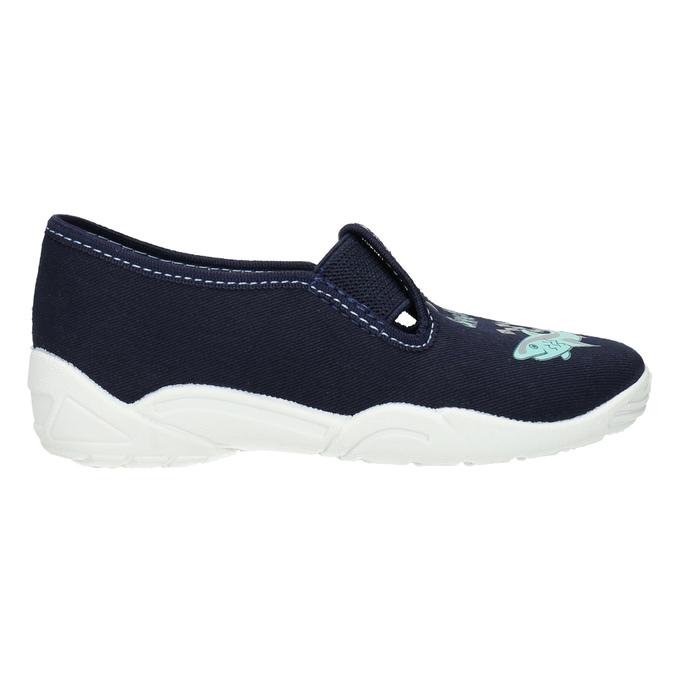 Detské papuče so žralokom mini-b, modrá, 379-9213 - 15