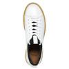 Dámske kožené tenisky na flatforme bata, biela, 526-1645 - 26