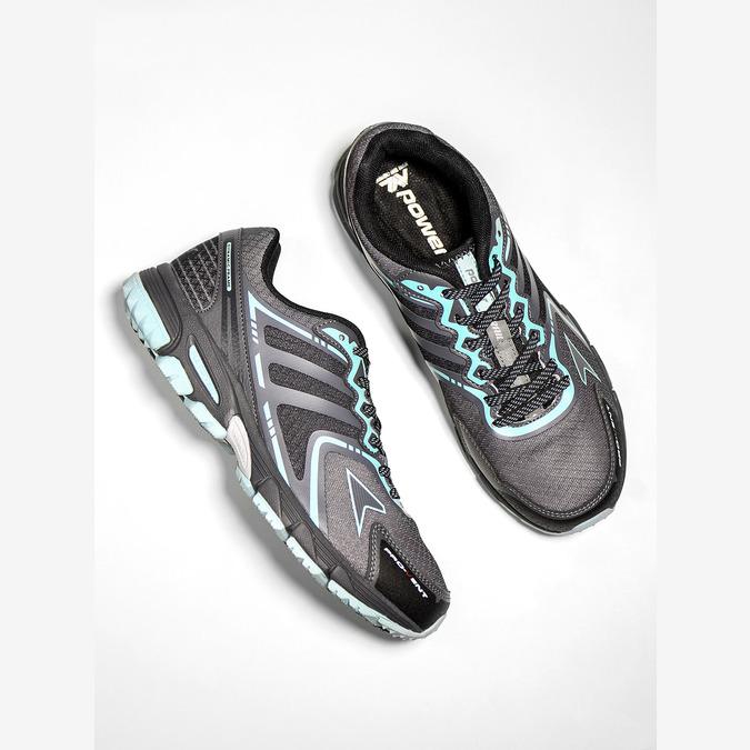 Dámska športová obuv power, šedá, 509-2226 - 19