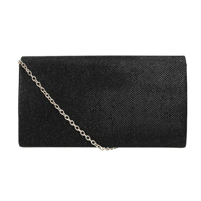 Čierna dámska listová kabelka bata, čierna, 969-6661 - 26