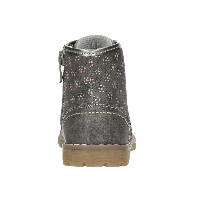 Detská členková obuv bubblegummers, šedá, 221-2606 - 17