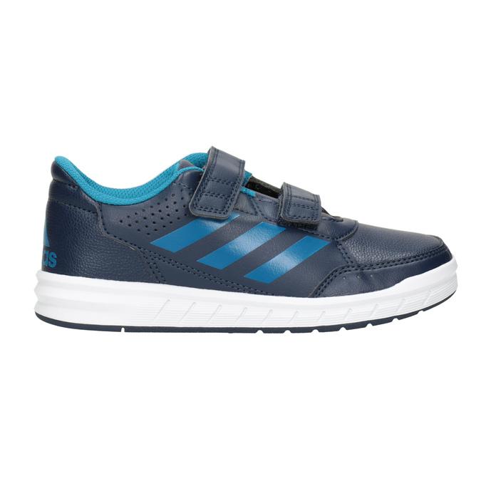 Modré detské tenisky adidas, modrá, 301-9197 - 26