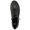 Kožená členková obuv so zipsami bata, čierna, 594-6642 - 26