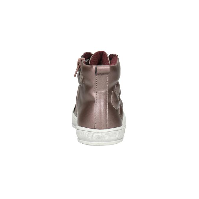 Detské metalické tenisky mini-b, ružová, 321-5610 - 17
