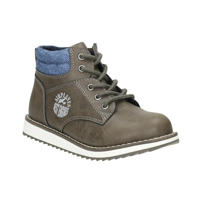 Chlapčenská členková obuv mini-b, hnedá, 211-3623 - 13