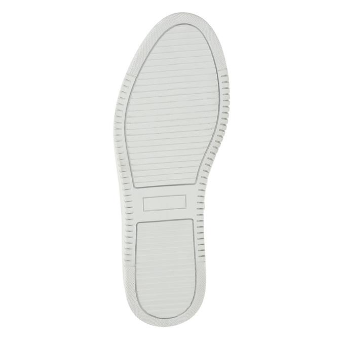 Dámska kožená Slip-on obuv bata, šedá, 516-1614 - 19