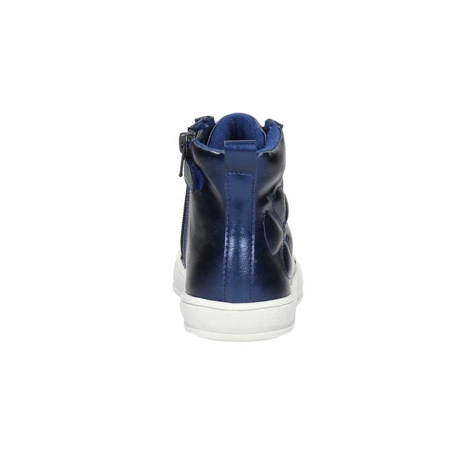 Modré detské členkové tenisky mini-b, modrá, 321-9610 - 17