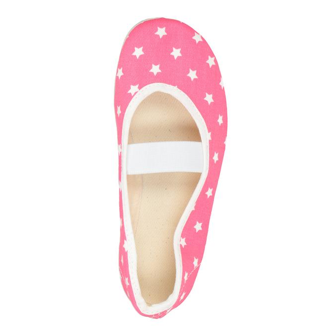 Detské cvičky s hviezdičkami bata, ružová, 379-5217 - 15