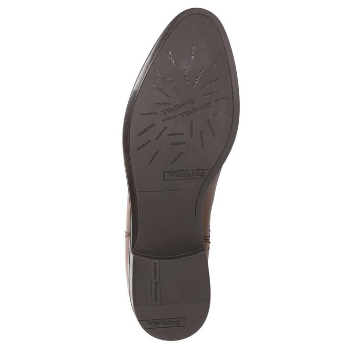 Kožená dámska Chelsea obuv bata, hnedá, 594-4635 - 26