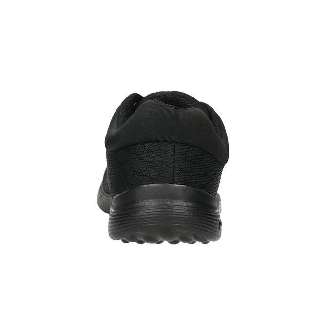 Dámske čierne tenisky power, čierna, 509-6203 - 16